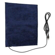 24x30 см 5V 2A USB обогреватель для домашних животных грелку электрическое отопление ткань подогреватель пусковой площадки нагревательный элеме...