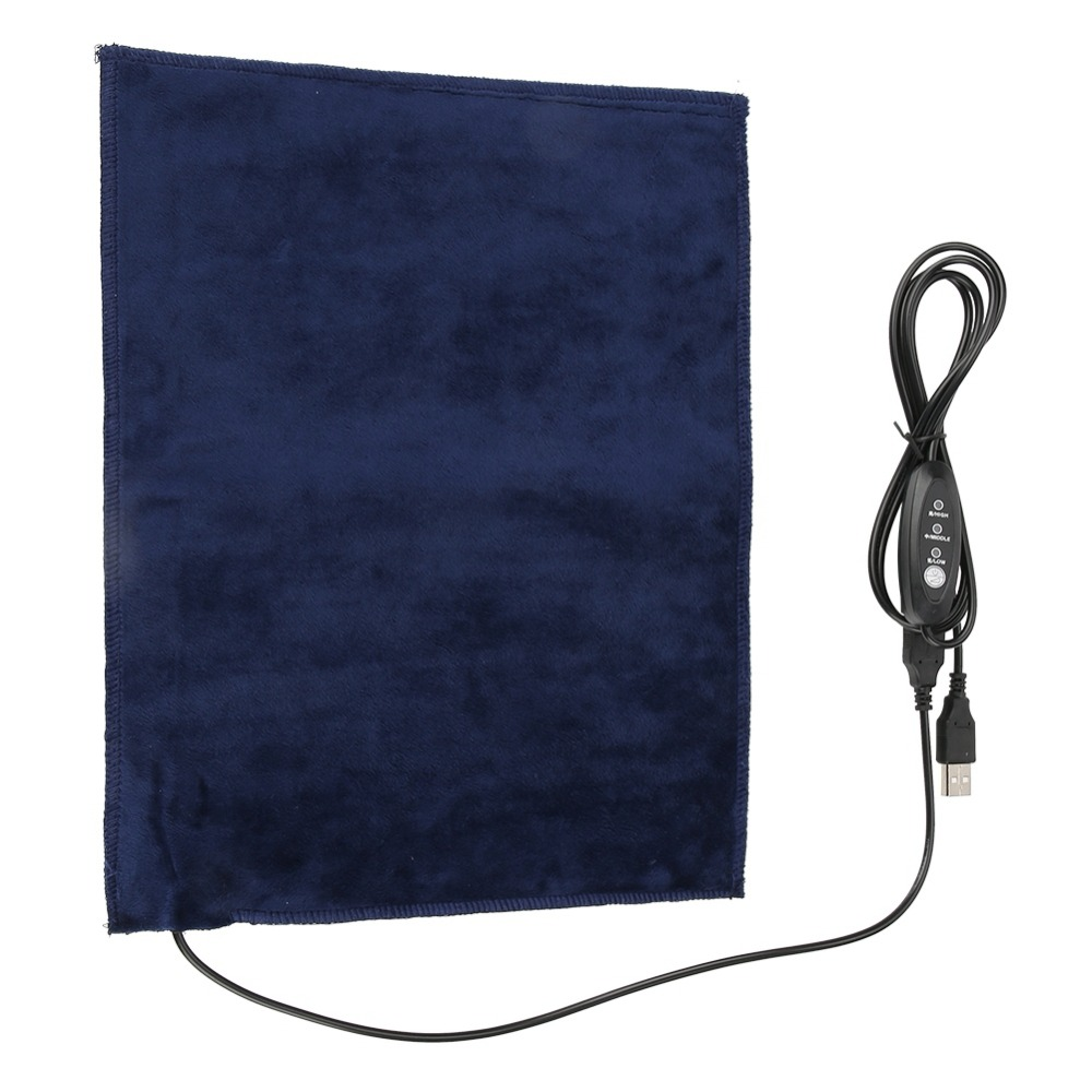 24x30cm 5V 2A USB Pet Warmer Heating Pad Electric Cloth Heater Pad Heating Element for Clothes