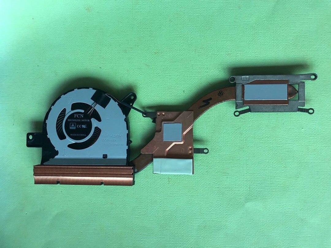 Новый Кулер для ноутбука, вентилятор для процессора, радиатор для DELL Latitude 5580 5590 09VK27 0314FC DC 5V 0.5A, независимый Графический радиатор для ноутбука