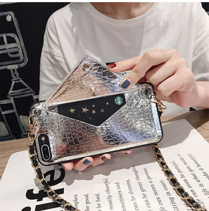 Image 4 - Hot Girls Crossbody Wallet With Long Strap Case Cover For iPhone 11 12 Pro XS MAX XR X 6S 8 7 6 Plus Card Slot Pouch Purse Cover