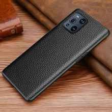 Genuine Leather Case For Oppo Find X3 NEO Lite Cover Anti Knock Leather + Soft TPU Frame Coque For Oppo Find X3 Pro Case Fundas