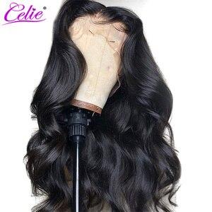Image 3 - Парик Celie HD на сетке спереди, волнистый парик на сетке спереди, 28 дюймов, 250 плотность, прозрачные парики на сетке, 5X5 парик на сетке