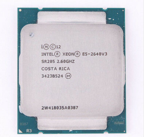 Intel Cpu Processor 8core 90w-Socket E5-2640 v3 20MB SR205