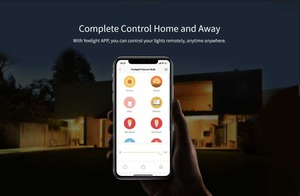 Image 5 - Yeelight bombilla de filamento LED inteligente YLDP23YL, 2020 lúmenes, 6W, Lemon, para Apple homekit, aplicación de hogar inteligente, 500