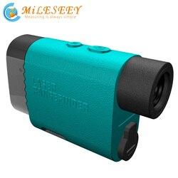Mileseey Telescope Laser Rangefinder 1000m Laser Distance Meter Monocular Golf hunting laser Range Finder tape Measure Roulette