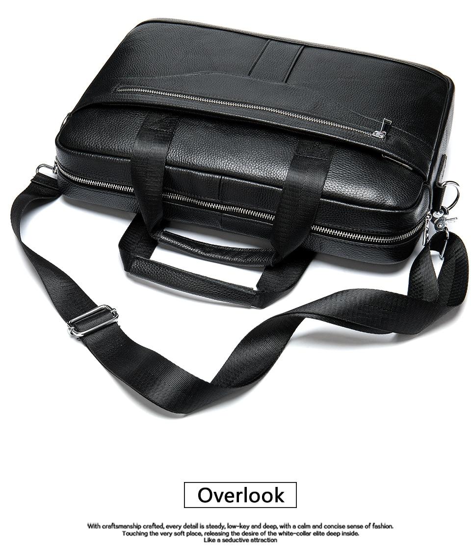 Hd62b3ac07d27407893c06c594c6599b1S MVA men's briefcase/genuine Leather messenger bag men leather/business laptop office bags for men briefcases men's bags 8572