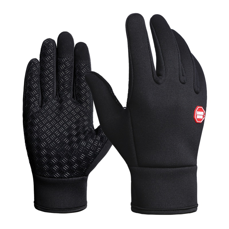 Winter Windproof Cycling Gloves Professional Ski Gloves Unisex Warmer Full Finger Gloves Snow Skiing Snowboard Gloves
