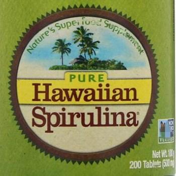 Natural Hawaiian Spirulina ,enhance Immunity,500 mg, 200 pcs