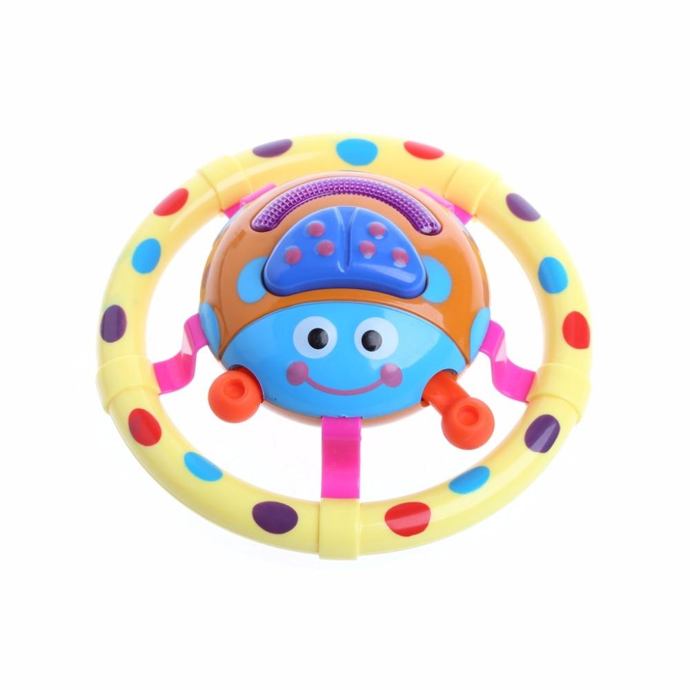 Lindos juguetes de bebé con sonido y luz mariquita Musical niños regalo para niños