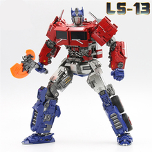Transformation OP Commander SS38 With Light AOYI LS 13 LS13  Movie Model Alloy Deformation Action Figure Robot Toys Kids Gifts