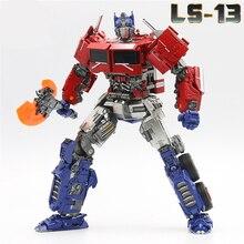 Trasformazione Op Comandante SS38 con La Luce Aoyi LS 13 LS13 Film in Lega Modello di Deformazione Action Figure Robot Giocattoli per Bambini Regali