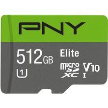 PNY Elite – carte Micro SD de 512 go