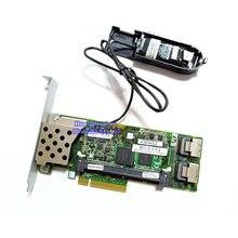 Cartão 6 gb pci-e do controlador do raid do sas p410 da disposição 462919-001 013233-001 com ram da bateria de 512 m