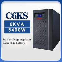 Uninterruptible power supply voltage regulation 6KVA / 5400W machine room power failure standby online C6KS