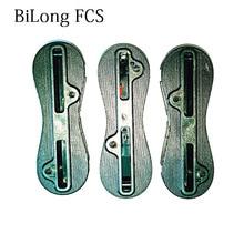 13 компл./лот аксессуары для доски для серфинга FCS II плавник коробка хвостовой руля слот высокого качества плавник для серфинга подходят для всех стандартных FCS II базовых плавников