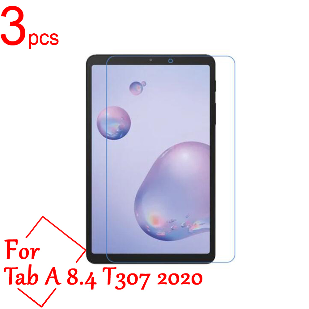 3pcs Ultra Clear/Matte/Nano Anti-Explosion LCD Screen Protectors Cover for Samsung Galaxy Tab A 8.4 T307 2020 Protective Film