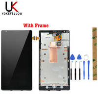 100% Tested LCD Display For Nokia Lumia 1520 RM 937 RM 938 RM 939 LCD Display Screen With Touch Screen Assembly Frame