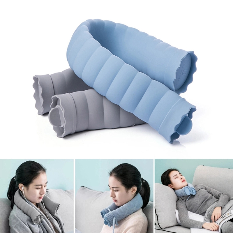 Image 4 - Jordan&Judy 710Ml U Shape Hot Water Bag Silicone Bottle Neck Hand Warmer Heater with Knitted Cover Water Storage Bags Keep Warm-in Hot Water Bottles from Home Appliances