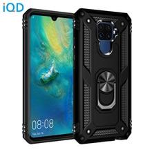 IQD For Huawei P20 lite Case Ring Bracket Car Phone Holder Rotating Metal Hidden P30 Mate 20 Lite Pro