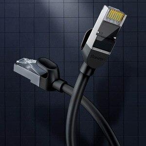 Image 2 - Cabo ethernet xiaomi mijia rj45 gigabit, cabo redondo/plana, sem cadarço, sem internet morreu/velocidade rápida/liso visualização