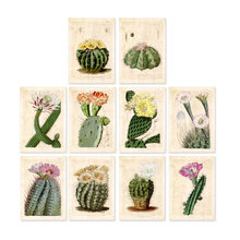 10 в 1 винтажные ботанические художественные принты curtis на