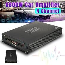 DC 12V 6800W Max 4 Kanäle Auto Sound Verstärker Klasse A/B Hause Subwoofer Audio Stereo Bass lautsprecher Automotive Audio Verstärker