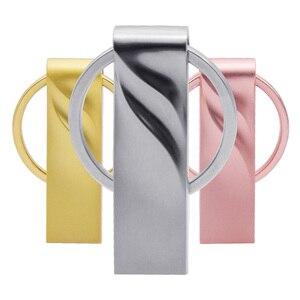 Image 5 - Metall Schlüsselbund Pendrive usb Stick 2,0 4gb 8gb 16gb 32gb 64gb Memoria Stick Pendriver memory Stick U Disk Personalisieren Logo