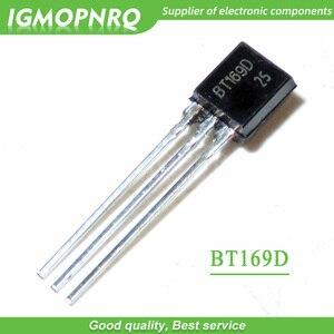 50 pces bt169d bt169 a-92 triacs tiristor scr 400 v 9a 3 pinos spt novo original