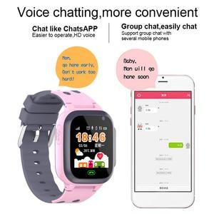 Image 4 - ساعة ذكية للأطفال مكالمة فيديو أندرويد 4.0 مقاوم للماء ساعة ساعة ذكية es متصلة ساعة ذكية للأطفال ساعة ذكية المعصم شاشة تعمل باللمس