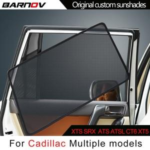BARNOV автомобильный Специальный занавес для окон солнцезащитных теней сетчатый тент оригинальный на заказ для Cadillac XTS SRX ATS ATSL CT6 XT5