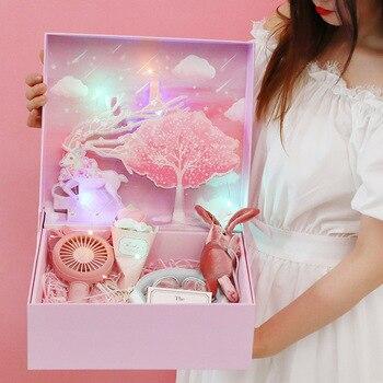 AVEBIEN-cajas de cartón para baby shower en 3D para regalo de cumpleaños...
