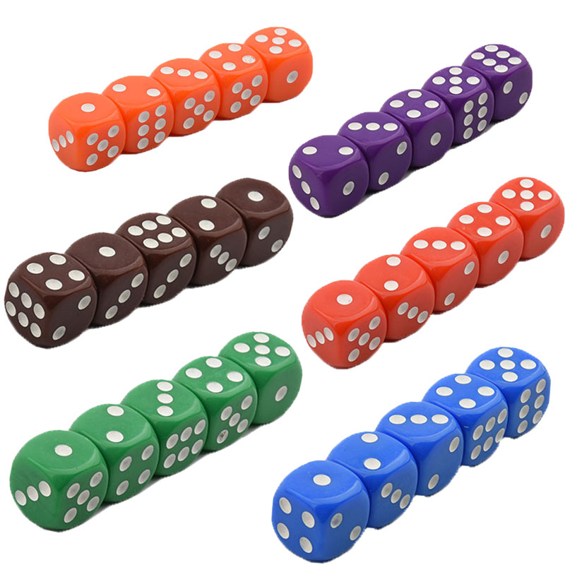 5PCS Dice Set D16 Professional Casino RPG Romance Adult Sex Games Dragon Hennessy Kids Toy Party Club Home Entertainment Set