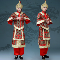 Chinese Ancient Costume Tang Suit Hanfu Generals Armor Soldier Costume Cosplay Stage Performance Costume Drama Costume DL4148