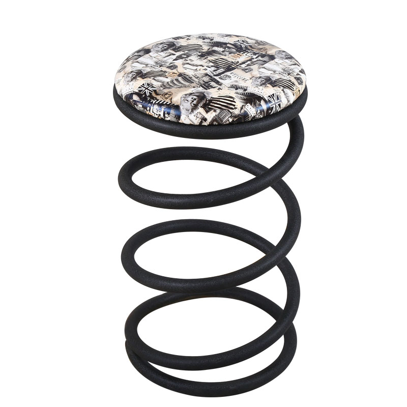 Personality New Creative Minimalist Bar Stool Light Luxury Front Bench Bar Chair Home High Stool Fashion Spring Stool