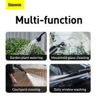 Baseus Car Water Gun High Pressure Cleaner Auto Car Washer Spray Car Washing Machine Electric Cleaning Auto Device Styling