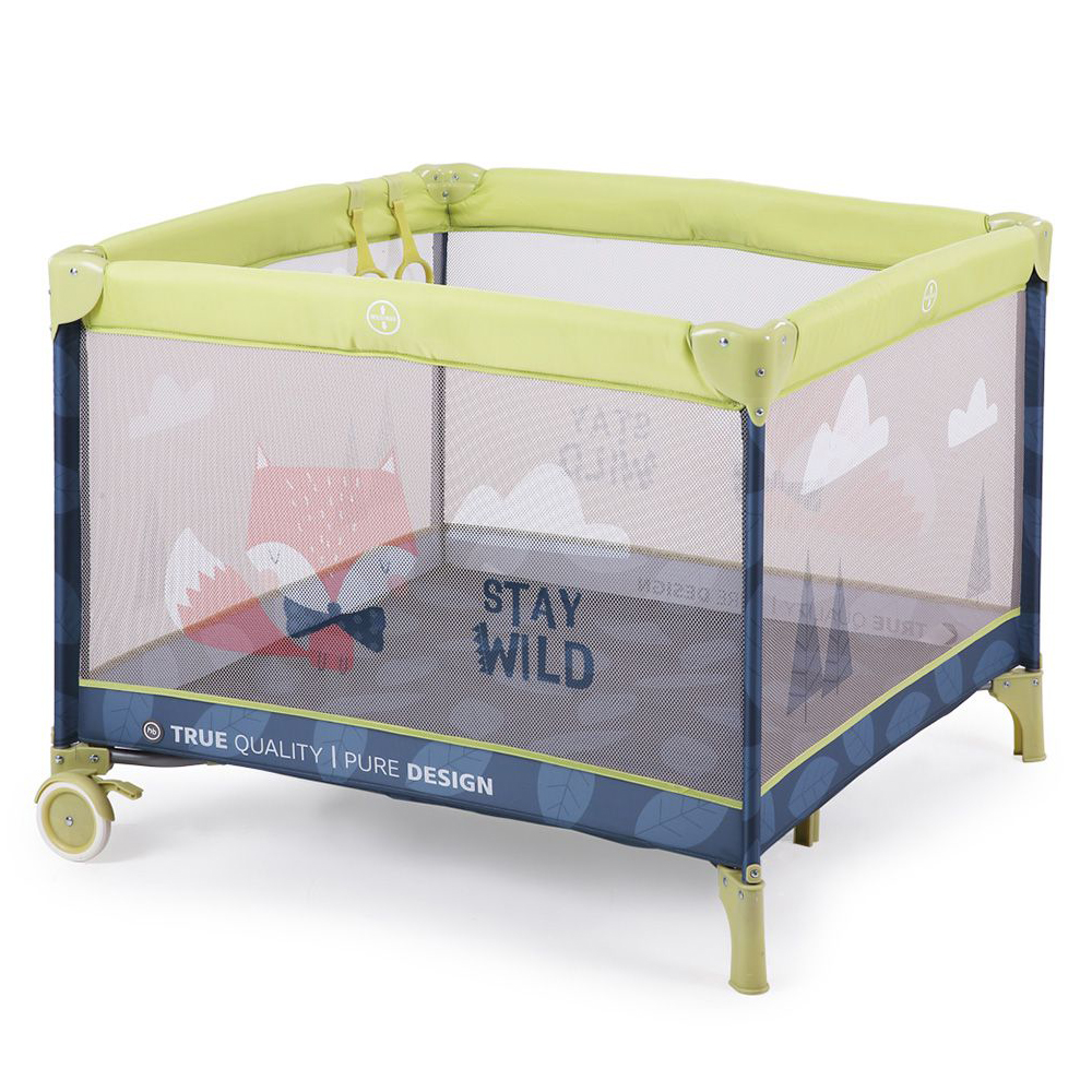 Baby Playpens Happy Baby Alex Playpen Manege CRIB For Children For Babies Fencing GRASS Metal Green