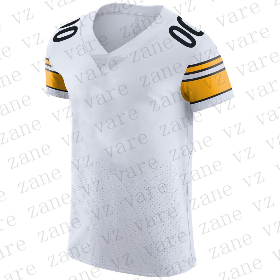 Customize Women American Football Jerseys JuJu Smith-Schuster James Conner TJ Watt Devin Bush Joe Haden Mason Rudolph Cheap Pittsburgh Jersey