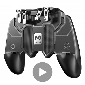 Pubg Mobile Joystick for Phone Gamepad Cell iPhone Android Trigger Smartphone Pabg Gaming Cellphone Game Controller l1 r1 Stick game pad console control l1 r1 joystick for android iphone cell phone gamepad pubg controller to mobile trigger joypad cellphone