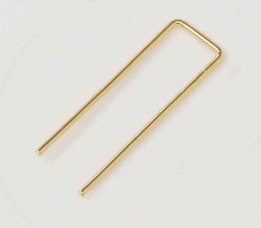 Minimalistischen Frauen Punk Rock Retro Ohrring Ohr Ohrringe Kreative Gold silber Schmuck Mode Piercing