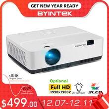 BYINTEK K400 K500 K600สมาร์ทWIFI Full HD 1080P 3LCD 300นิ้วOfficeโปรเจคเตอร์Cinema 4K 3D Beamer (อุปกรณ์เสริมAndroid 10กล่องทีวี)