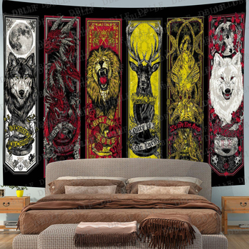 Simsant Psychedelic Shrooms Tapestry Colorful Abstract Trippy Tapestry Wall Hanging Tapestries for Home Dorm Fantasy Decor 30