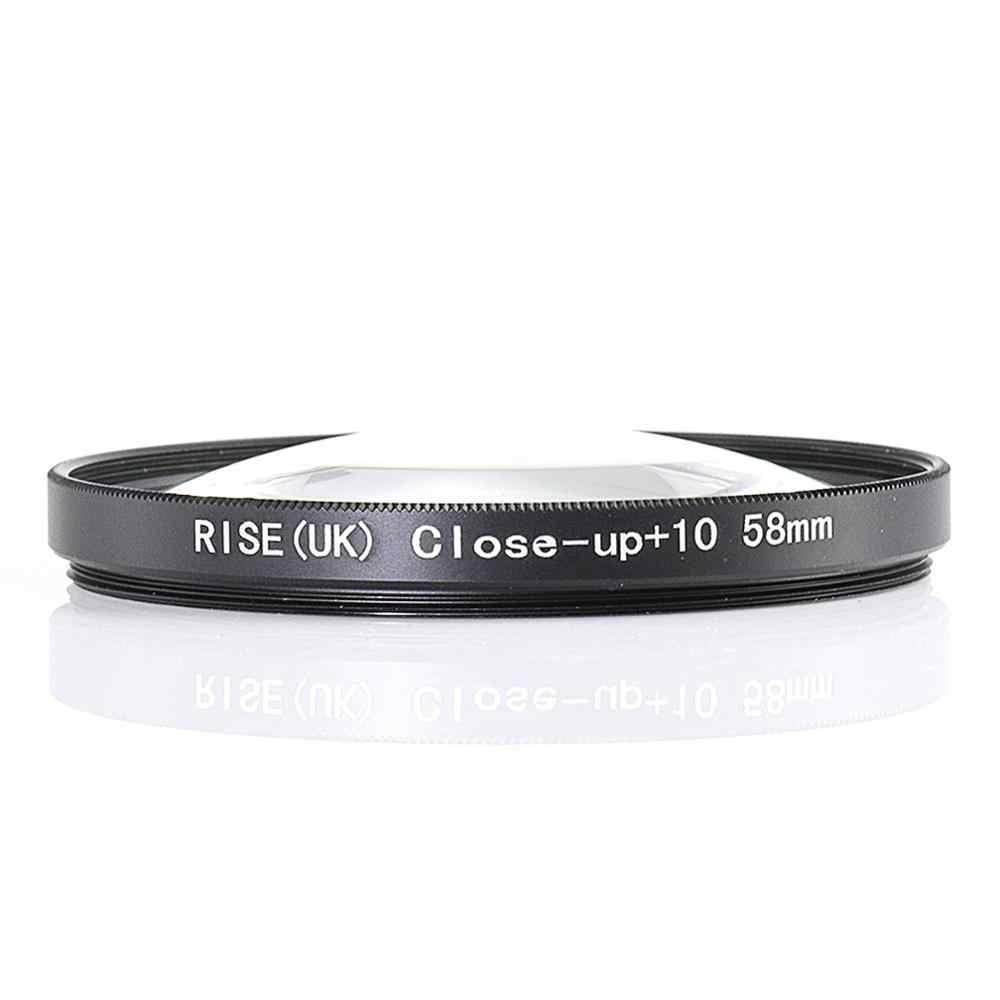 Naik (Inggris) 55 Mm Close-Up + 10 Makro Filter Lensa untuk Nikon Canon SLR DSLR Kamera