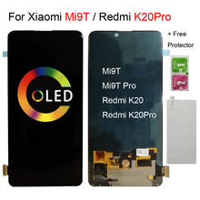 "OriginalสำหรับXiaomi Mi 9T Pro LCD 6.39 ""สำหรับRedmi K20 ProจอแสดงผลLCD Touch Screen Digitizer Assembly Mi 9T Lcd AMOLED TFT"