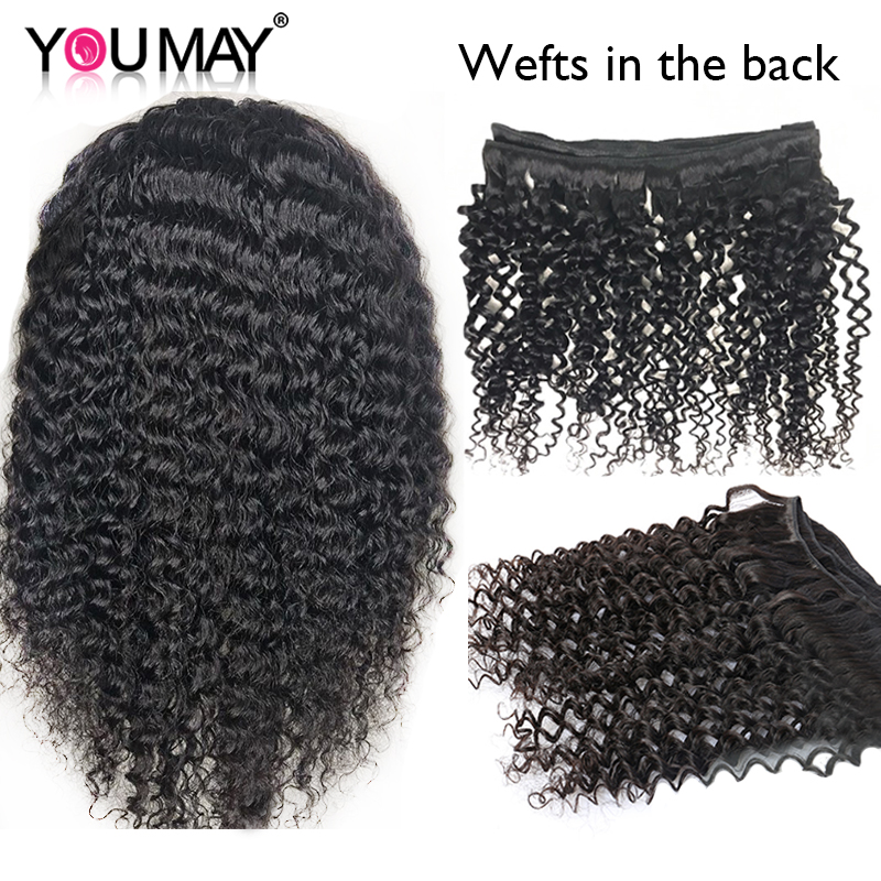 Image 5 - Kinky Curly Wig 360 Lace Frontal Wigs Pre Plucked Fake Scalp 13X6 Brazilian Lace Front Human Hair Wigs For Women You May Remy-in Human Hair Lace Wigs from Hair Extensions & Wigs