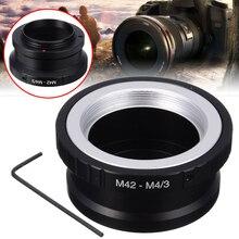 цена на New Arrival 1PC High Quality Lens Adapter M42 Lens To An Micro 4/3 M4/3 MFT For Oly-mpus Pa-nasonic Pen Lumix G