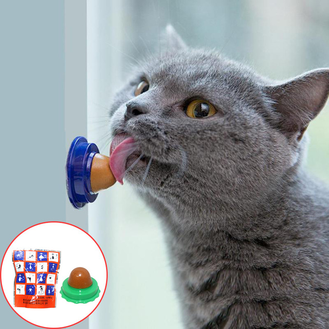 Cat Solid Nutrition Gel Healthy Snacks Catnip Ball Candy Licking Energy Toys Kittens Increase Drinking Water Help Digestion Food