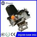 Оригинал испытания DQ200 DSG автоматическая коробка передач Управление редукционный клапан тела Управление модуль для Audi 7 скорость оам