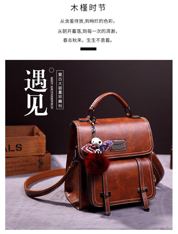 único ombro crossbody bookbag moda grande-capacidade de viagem portátil mini mochila
