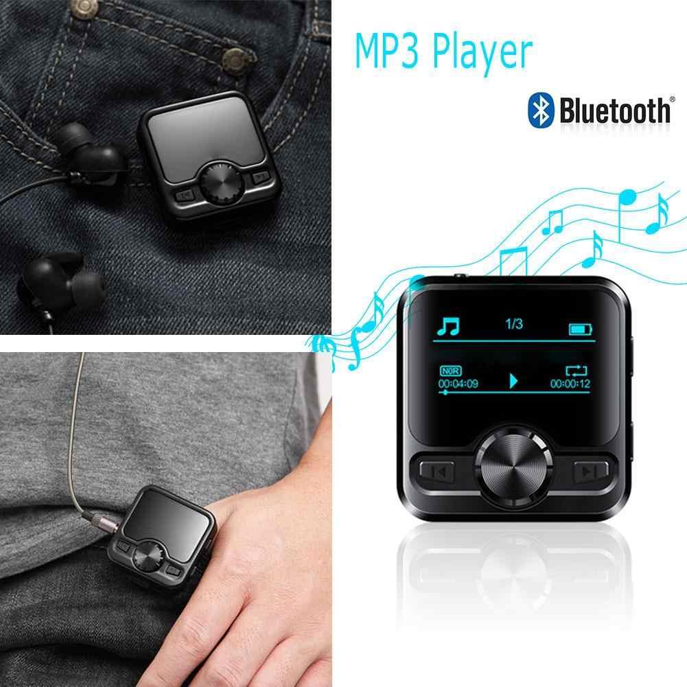 Más nuevo 1,2 pulgadas OLED Color Display M9 HIFI deportes Bluetooth Clip reproductor MP3 grabadora de voz Hifi MP3