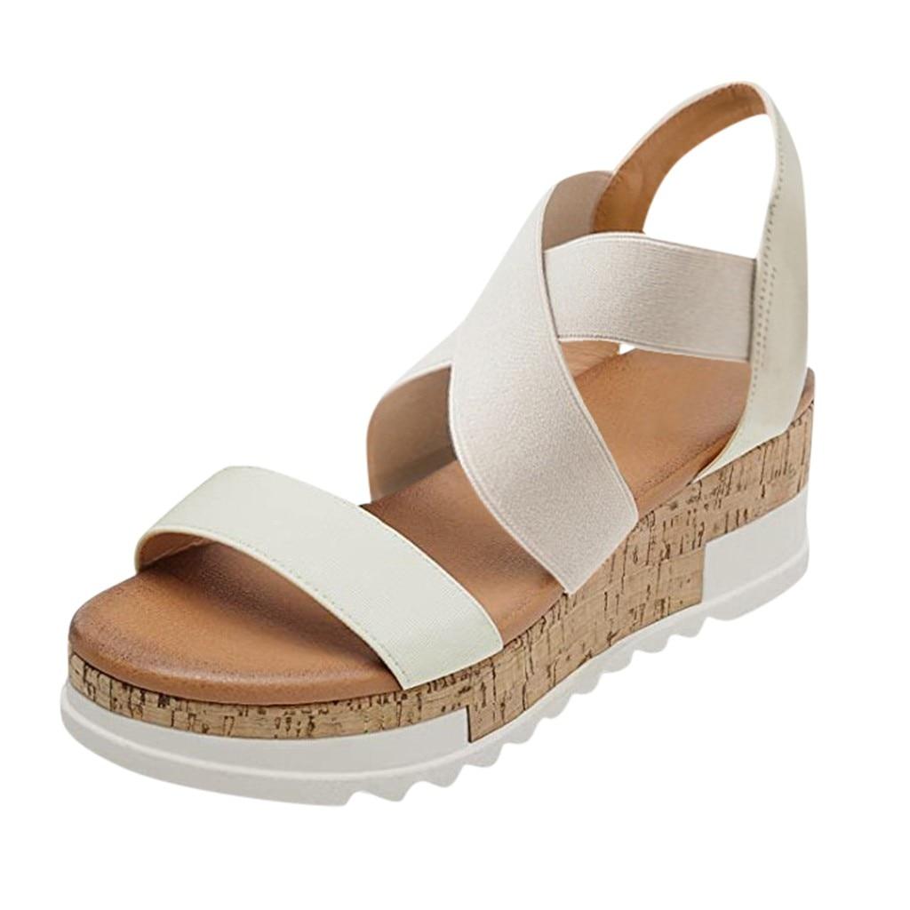SAGACE Women Shoes Open Toe Casual
